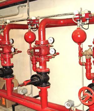 Системы водяного пожаротушения
